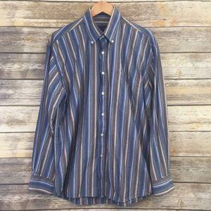 Alan Flusser Men's Button Down Shirt